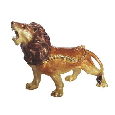 Lion jewel box