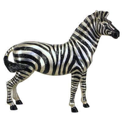 Zebra (male) - silver