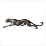 Cheetah Crouching - bronze