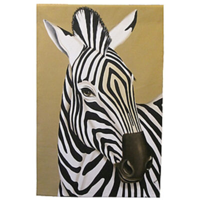 zebra wall hanging
