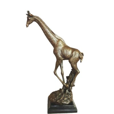 bronze Giraffe Standing