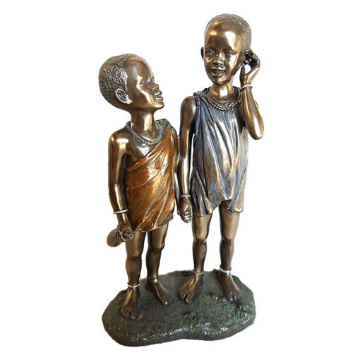 Raha & Mulalo - african figurines