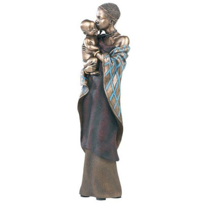 Nina Busu - african figurines