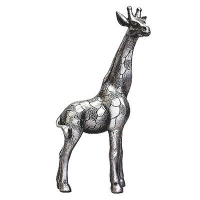 Pewter Giraffe Standing PA08