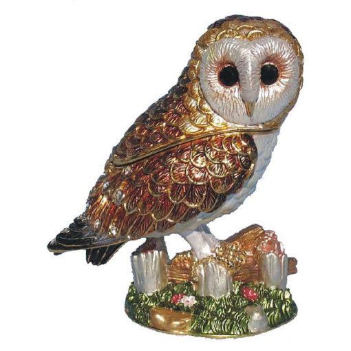 Barn Owl Treasurine