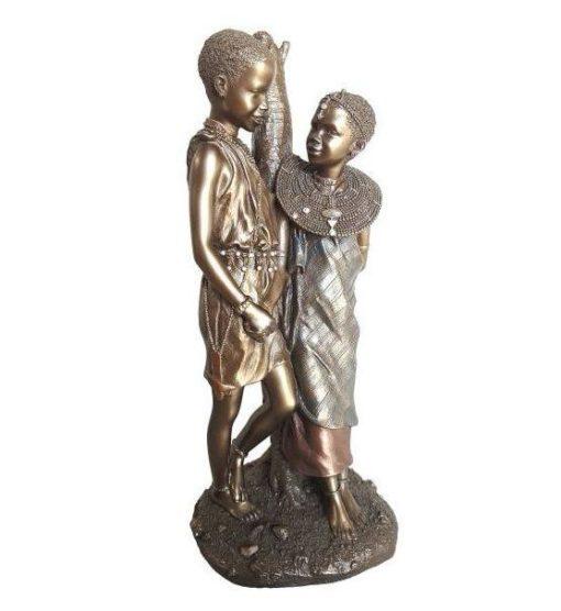 Utoto Mpenzi - african figurines