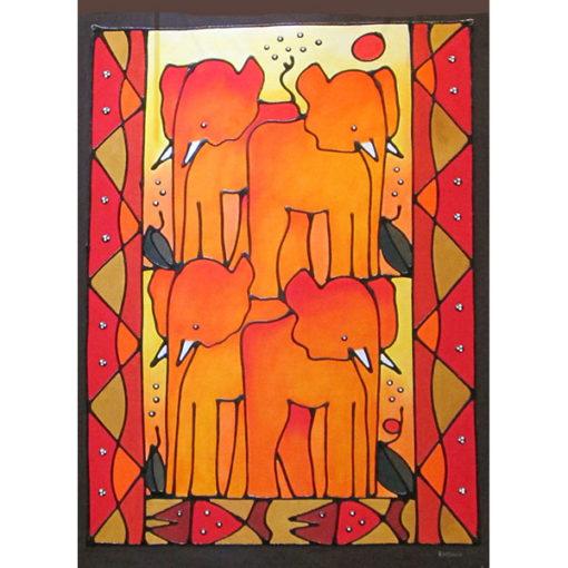 African painting khehla