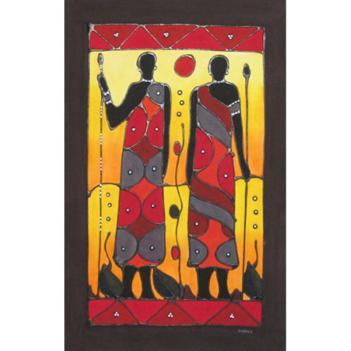 African tribe painting khehla