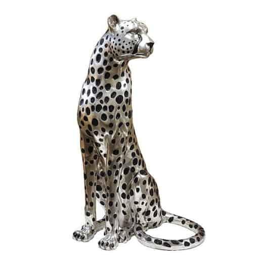 Cheetah sitting w